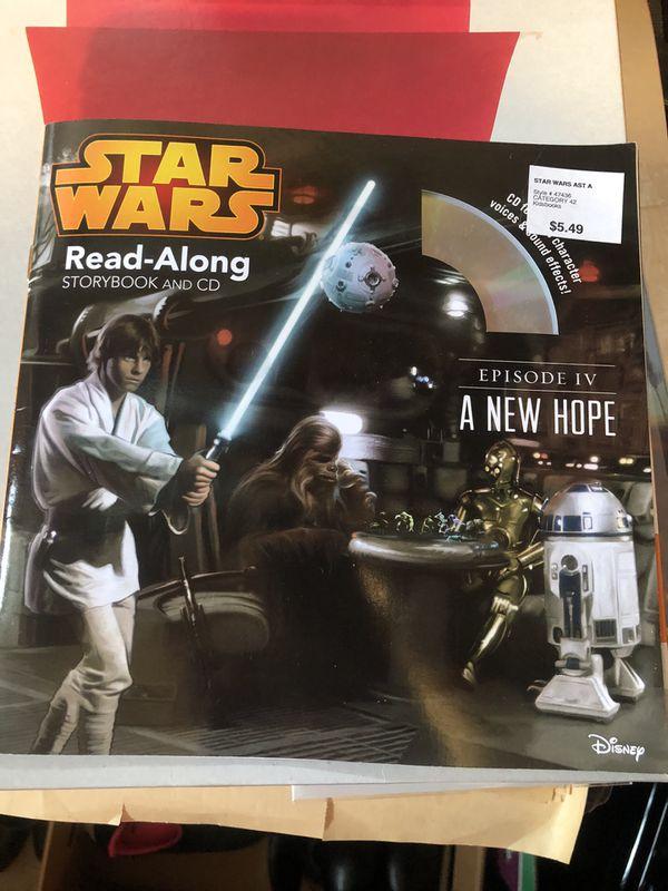 Star War read-a-long book