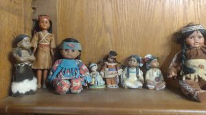 Vintage Indian dolls for Sale in Swansea, IL