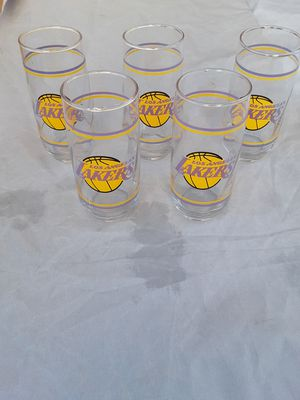 1980's Lakers glasses for Sale in Riverside, CA