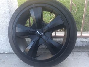ON ION BLACK RIMS Set OF 4 ZENNA ARGUS - UHP 215/40ZR18 89W XL TIRES ON ION BLACK RIMS - for Sale in Rancho Cucamonga, CA