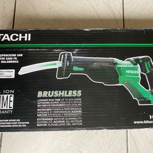 Hitachi CR18DBLP4 18V Cordless Brushless Reciprocating Saw for Sale in East Windsor, NJ