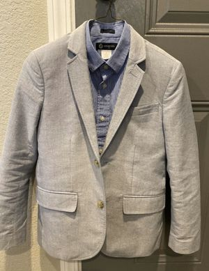 J Crewcuts 3 pc suit size 10 boys used excellent condition for Sale in Coppell, TX