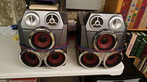 Aiwa bass reflex 3way speaker system for Sale in Wichita, KS