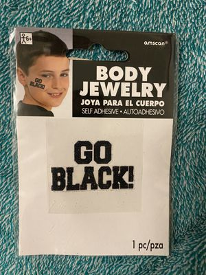 Go Black! Body Jewelry for Sale in Ithaca, NY