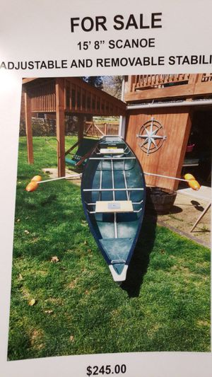 "Coleman Scanoe 15' 8"" for Sale in Forest, VA"