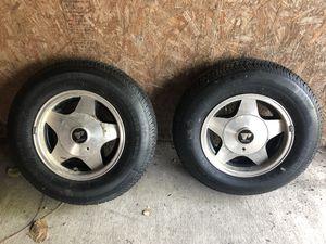 Firestone trailer wheels for Sale in Celeste, TX