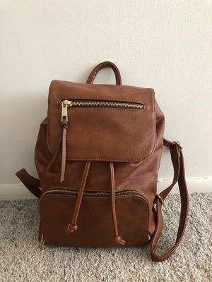2 fancy backpacks (brown+black) for Sale in Chicago, IL