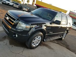Ford expedition 2008 5.4 v8 3er seat row clean az title no trades cash or finance for Sale in Phoenix, AZ