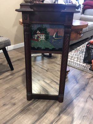 Decorative antique wall mirror for Sale in Tacoma, WA