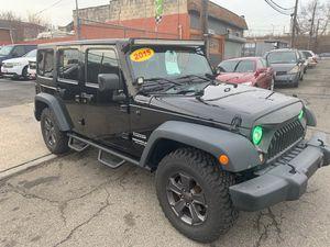 2015 Jeep Wrangler Unlimited for Sale in Newark, NJ