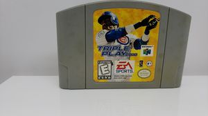 NINTENDO 64 TRIPLE PLAY 2000 for Sale in St. Louis, MO