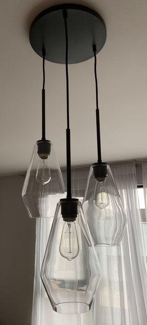 Amazing Edison lightbulb chandelier! for Sale in San Francisco, CA