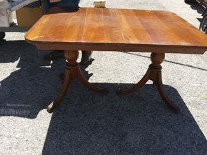 Duncan phyfe dining table for Sale in St. Petersburg, FL