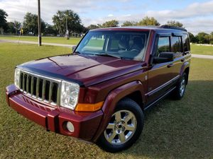 2007 JEEP COMMANDER AWD NEW TIRES SUNROOF 3RD ROW 120K for Sale in Tampa, FL
