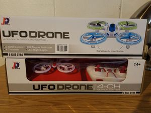 UFO Drone RC Quadcopter 360 Degree Flip 2.4 GHz with LED Lights - Blue for Sale in Dearborn, MI