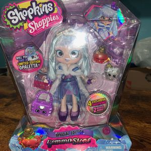 **SPECIAL EDITION** Shopkins Shoppies- Gemma Stone for Sale in Uniondale, NY