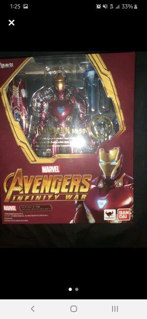 Sh figuarts infinity war mach 50 iron man for Sale in Covina, CA