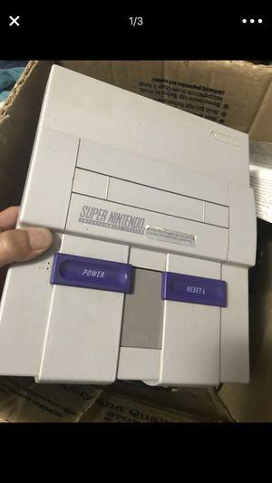 Original Super Nintendo for Sale in Dallas, TX