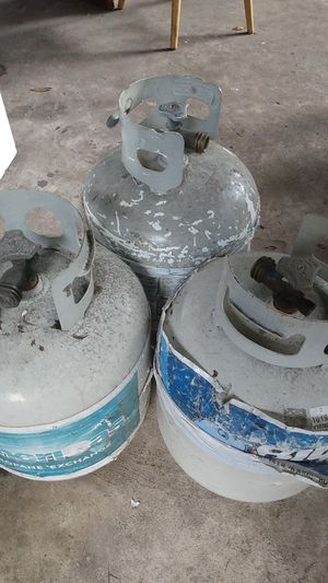 Propane tanks all three for $50 for Sale in Ruskin, FL
