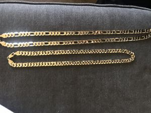 Gold plated chains for Sale in Salinas, CA