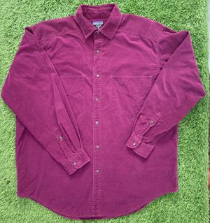 Patagonia Corduroy Button Down Shirt Size Medium for Sale in Palm Springs, CA
