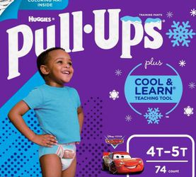 Huggies Pull UP Size 4t 5t 74 Count $29 for Sale in Los Angeles,  CA