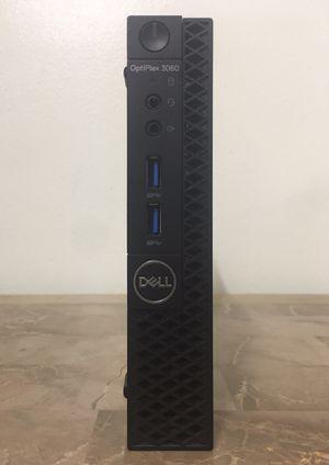"""Like new Micro DELL Optiplex 3060 7"""" inches Core i3 Corei3 8th gen. 8GB RAM 256GB NVMe SSD HDMI WiFi Bluetooth Windows 10 desktop computer for Sale in Pembroke Pines, FL"""