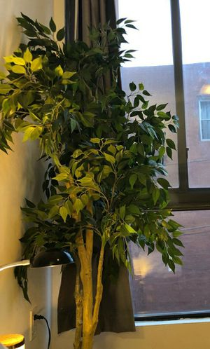 Artificial plant with tin pot for Sale in Brooklyn, NY
