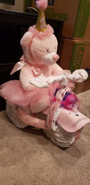 Baby Diaper Cake Trike for Sale in Temecula, CA