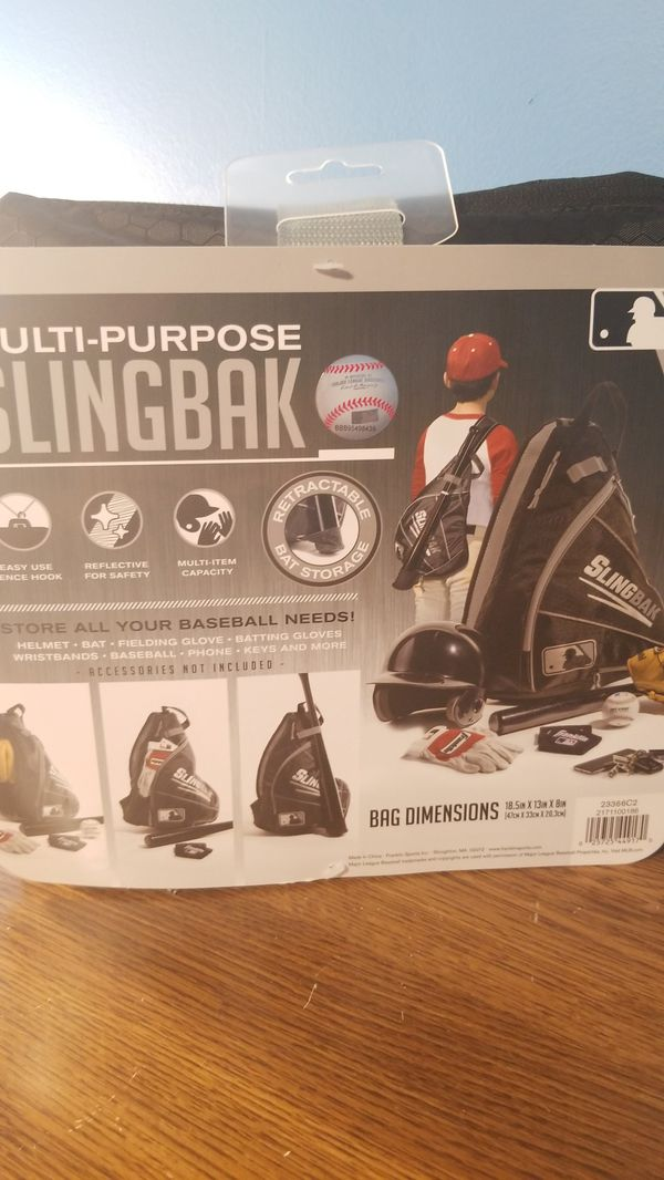 Franklin Multi-Purpose baseball sling bag new!!