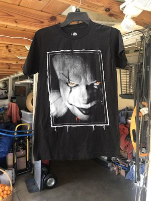 Movie IT Steven Kings size Small 100 cotton made in Mexico for Sale in Covina, CA