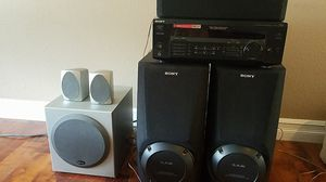 Sony receiver & speakers for Sale in Austin, TX