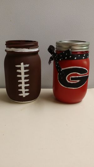 Football Jars! for Sale in Warner Robins, GA