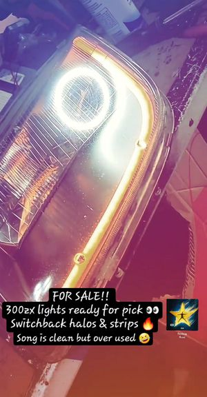 300zx Nissan lights custom halos & led strips for Sale in Fresno, CA