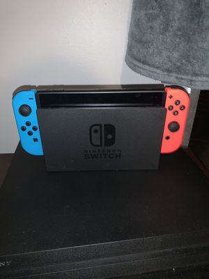 nintendo switch plus 3 mario games for Sale in Boca Raton, FL