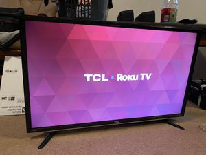 "32"" TCL Roku TV (2015) Model 32S3800 for Sale in Seattle, WA"