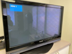 "Panasonic 42"" plasma TV works great for Sale in Tacoma, WA"