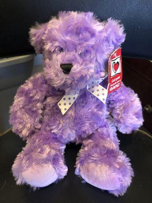 Ganz Purple Stuffed Animal Bear for Sale in Preston, CT