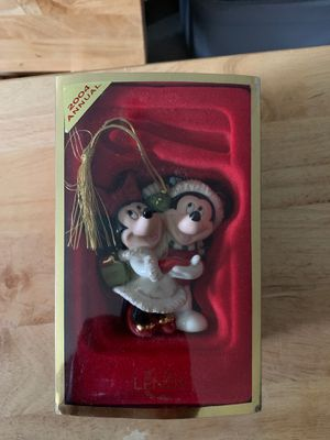 Lenox Mickey & Minnie Mouse Christmas Ornament New 2004 for Sale in Sayre, PA
