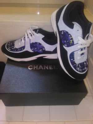 2019 CHANEL SUEDE TRAINERS (SALE) for Sale in Orlando, FL