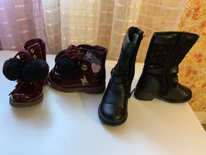 Toddler girl boots sz 6 for Sale in Saugus, MA