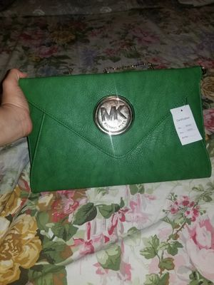 Michael Kors Green Wallet for Sale in Norfolk, VA