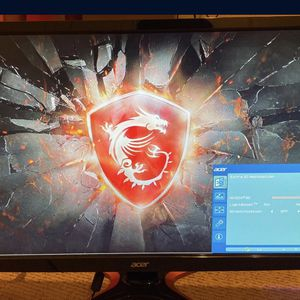 """Acer 144hz 1080p Gaming Monitor 24"""" for Sale in Irvine, CA"""