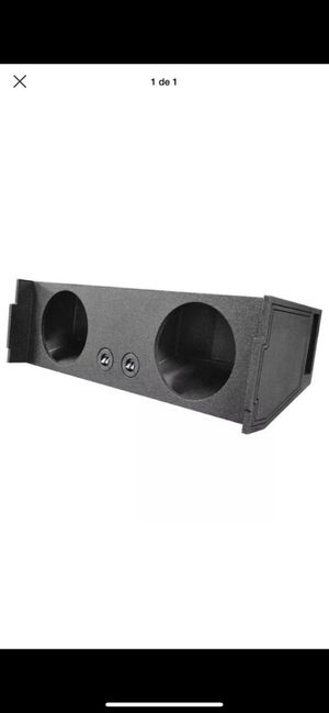 "Qpower Bomb Dual 12"" Woofer Box 2007-2014 Chevy Tahoe 3rd Row Vented Downfire for Sale in Roanoke, VA"