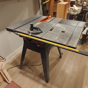 "Sears Craftsman 10"" Table Saw + Stand + 6 Blades for Sale in Arlington, VA"