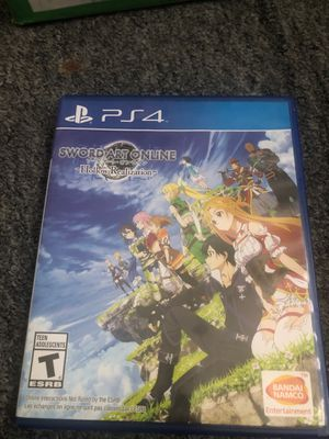 Sword art online hollow realization ps4 for Sale in Santa Ana, CA