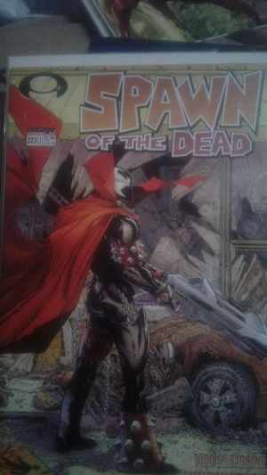 Spawn of the Dead 223 cover swip of the walking Dead #1 for Sale in Amory, MS