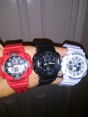 Casio G Shock Watches $45 EACH for Sale in Dallas, TX