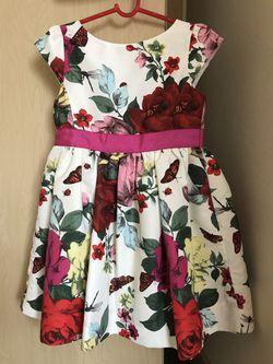 NEW London Designer Ted Baker flower flora silk like material dress for Sale in Seattle,  WA