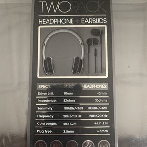 Brand new headphones earbuds for Sale in Mission Viejo, CA